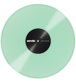 Serato Glow in the Dark Control Vinyl Set