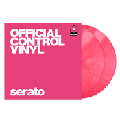 Serato Pink Performance Series Control Vinyl pair