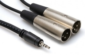 Hosa Tech CYX-403M 3.5 mm TRS to Dual XLR3M