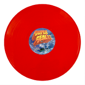SUPERSEAL2:SKRATCHY BEATS OFF SPACE SUCKAS (BLOOD ORANGE) 12""