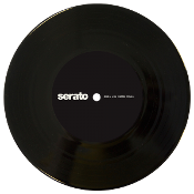 "7"" Serato Performance Series Black (Pair)"