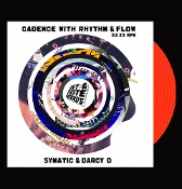 "7"" VINYL - Combinations with Rhythm and Flow -Fresh Orange Vinyl"