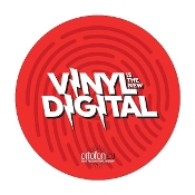 """VINYL IS THE NEW DIGITAL"" slipmat set"