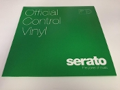 "Serato Official Control Vinyl 12"" Solid Green (Pair)"