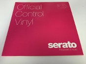 "Serato Official Control Vinyl 12"" Pink (Pair)"