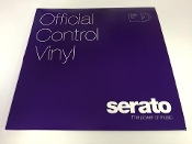 "Serato Official Control Vinyl 12"" Purple (Pair)"