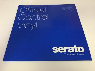 "Serato Official Control Vinyl 12"" Solid Blue (Pair)"