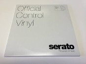 "Serato Official Control Vinyl 10"" 'Clear' (Pair)"