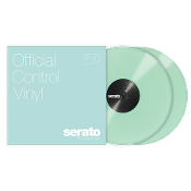 "Serato Official Control Vinyl 12"" Glow in the Dark (Pair)"
